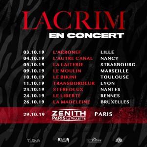 LACRIM – tournée annulée