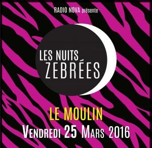LES NUITS ZÉBRÉES DE RADIO NOVA